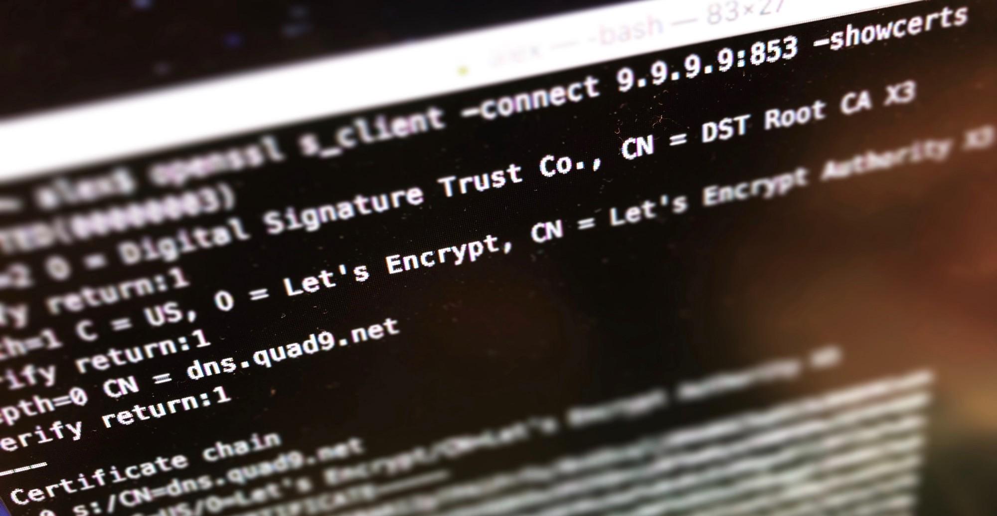 تصویر از تاریخچه و آینده امنیت DNS