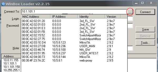 راه های اتصال به RouterOS میکروتیک