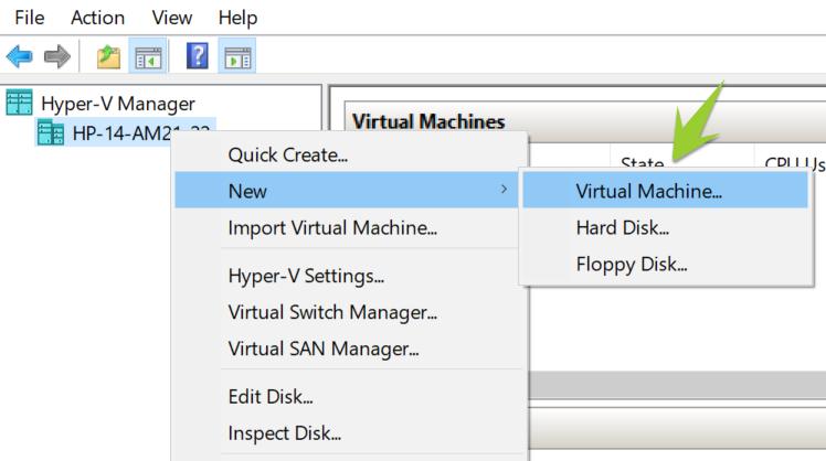 نصب VHDK میکروتیک در Hyper-V