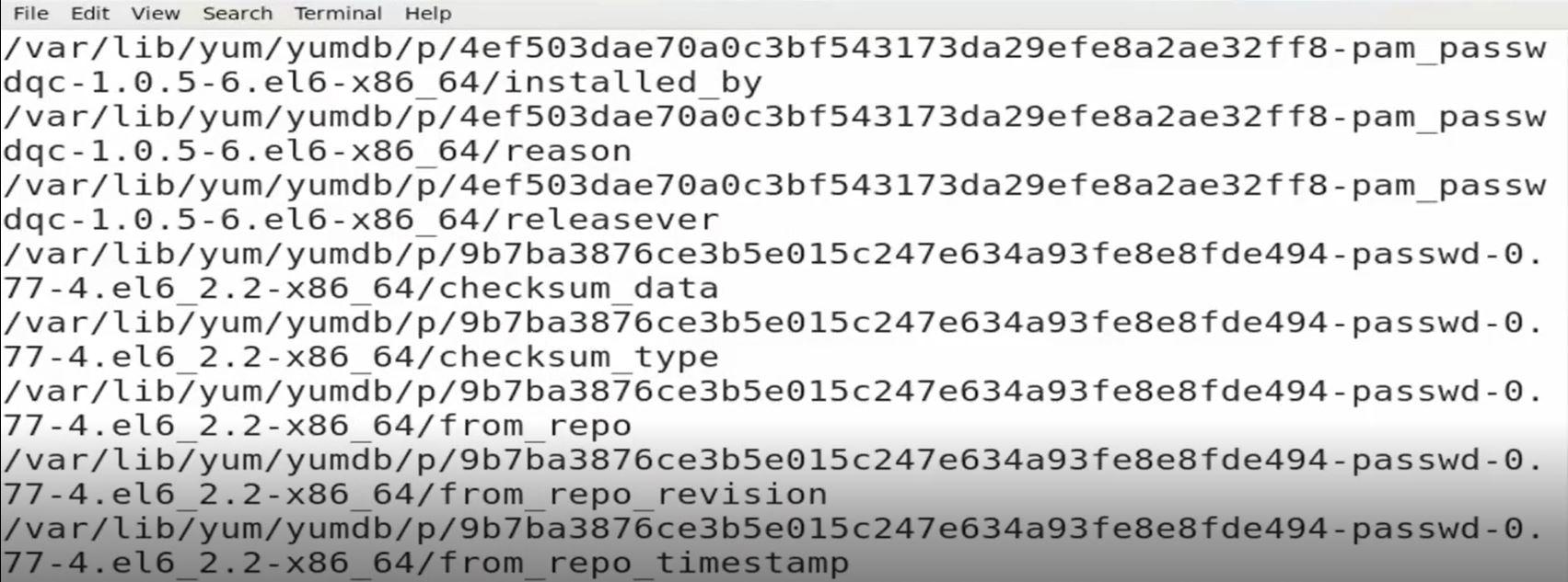 دستور Locate در لینوکس