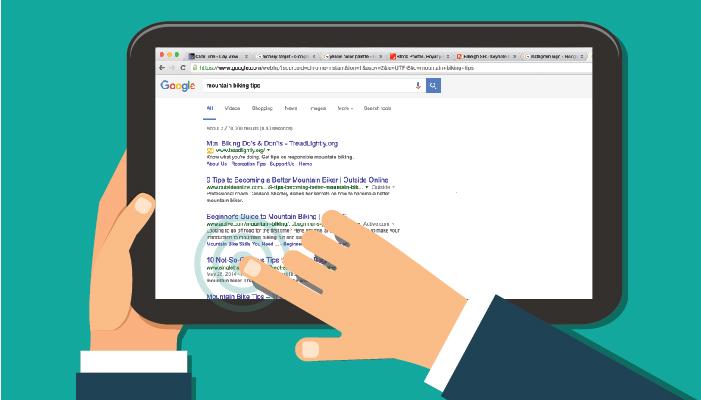 تصویر از CTR در نتایج Google Search Console به چه معناست و چطور می توان از آن در جهت بهبود وب سایت استفاده کرد؟