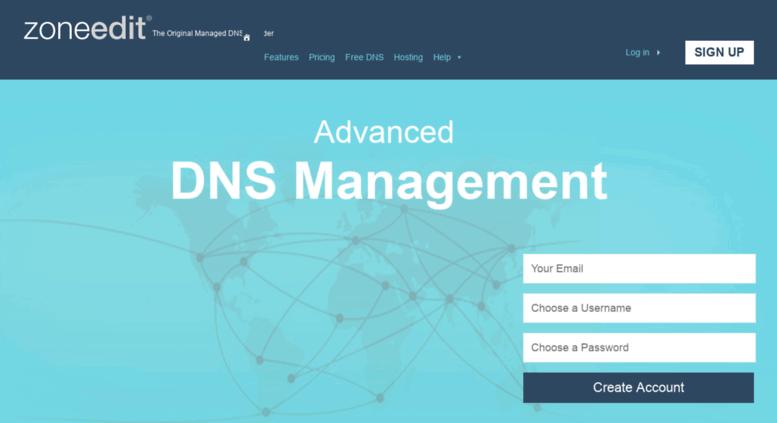 تصویر از پیکربندی DDNS در ZoneEdit