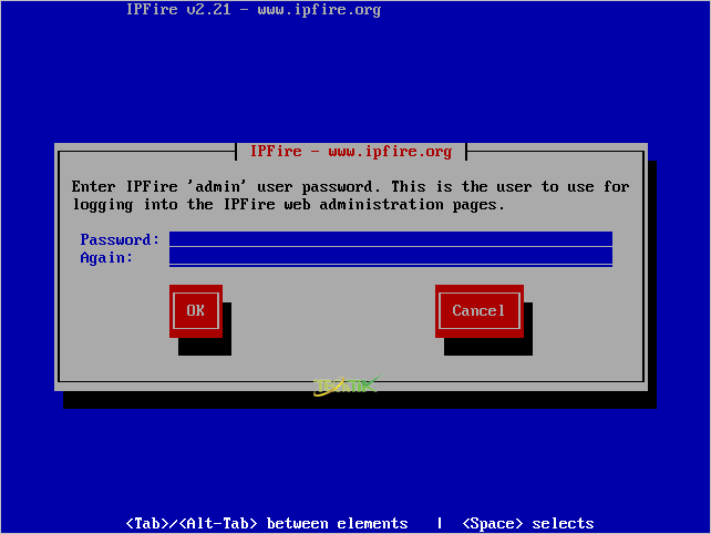 Install IPFire