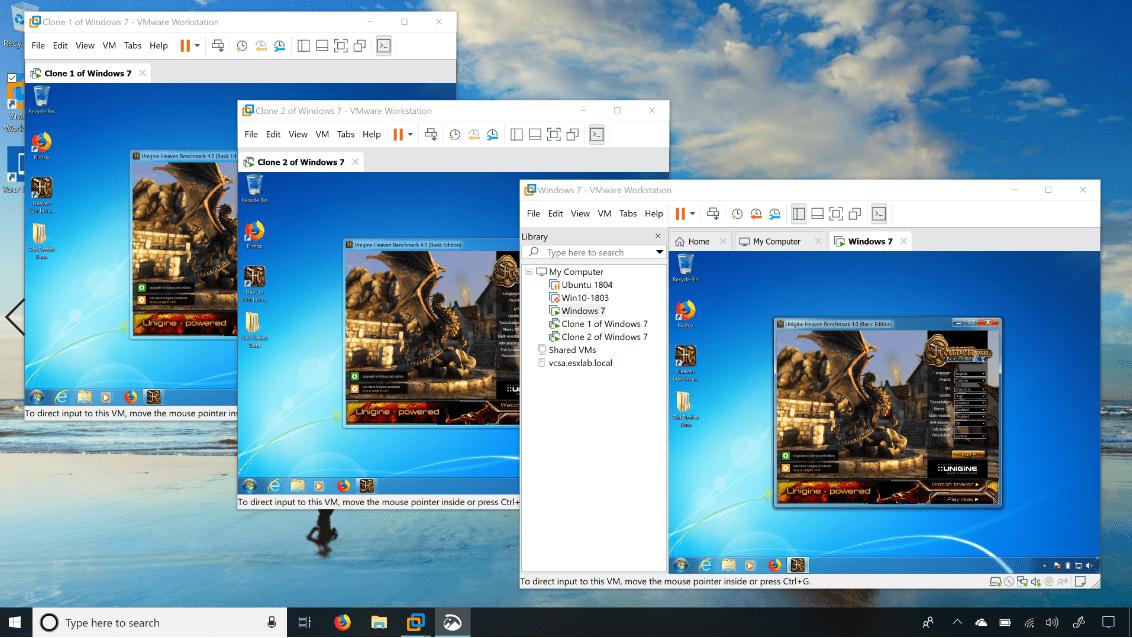 تصویر از دانلود VMware Workstation Pro 15.0.4
