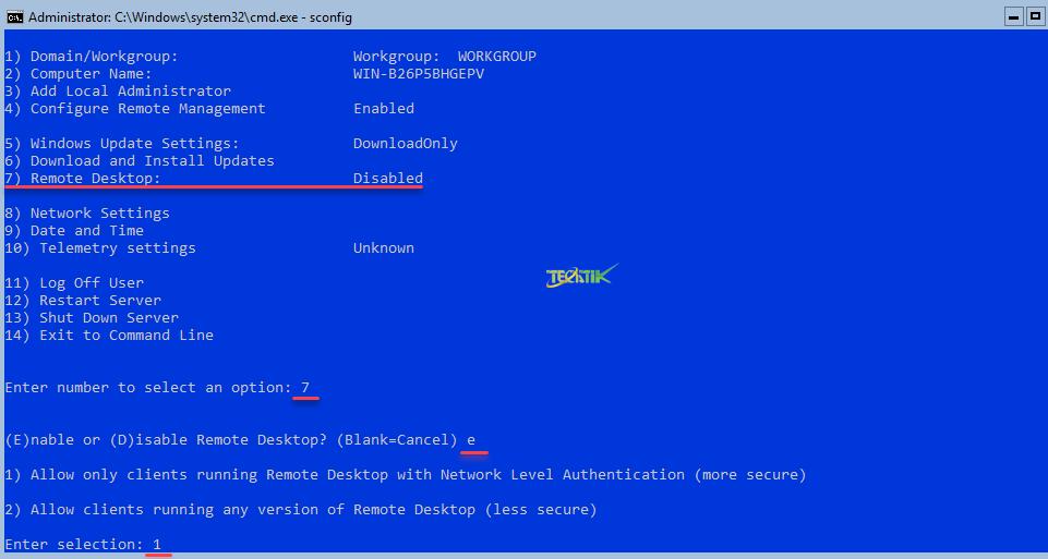 Remote-Desktop-hyperV-Server
