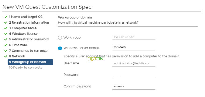 Workgroup-or-domain