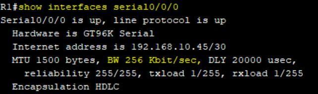 پیکربندی نرخ کلاک و پهنای باند در پورت سریال روترهای سیسکو
