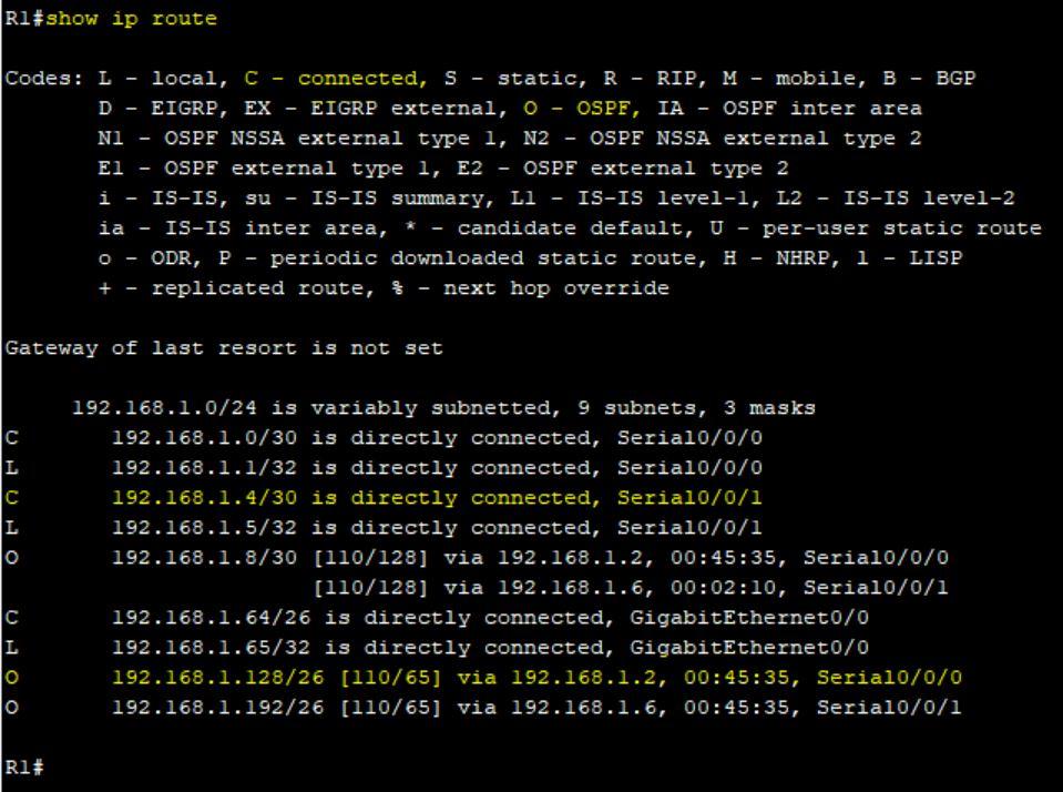 پروتکل روتینگ OSPF در سیسکو