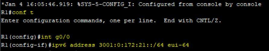 اختصاص آدرس آی پی ورژن 6 با استفاده از مکانیزم EUI-64 در روتر سیسکو