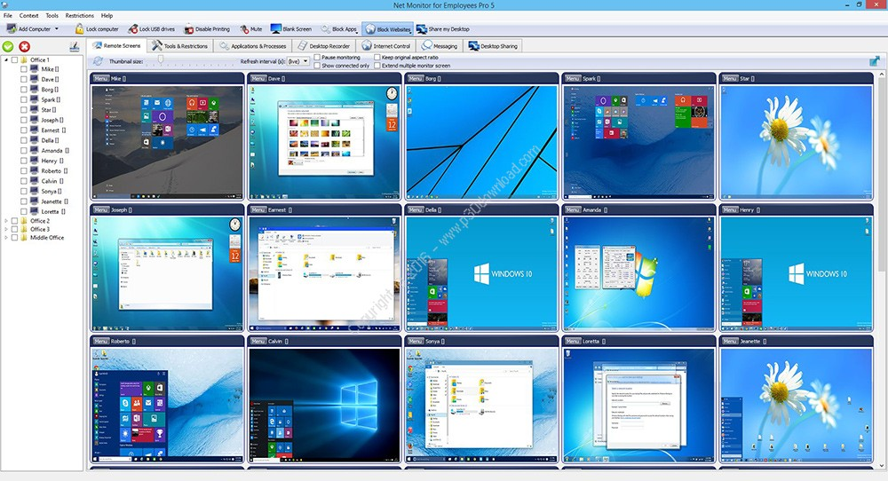 Photo of آموزش نرم افزار Net Monitor for Employees