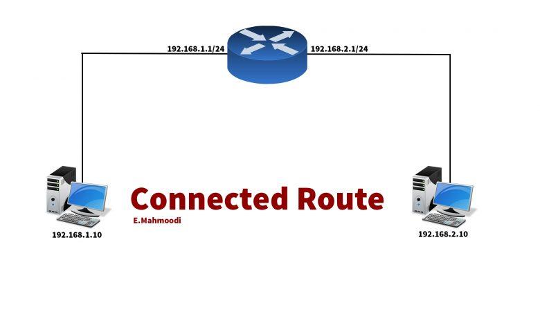 تصویر از آموزش Connected Route  در روتر میکروتیک