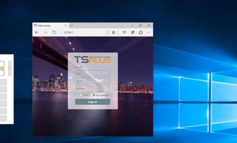 تصویر از پک آموزشی (RemoteApp) TS-Plus