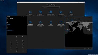 تصویر از فعالسازی حالت Dark mode در ویندوز ۱۰ و مایکروسافت آفیس