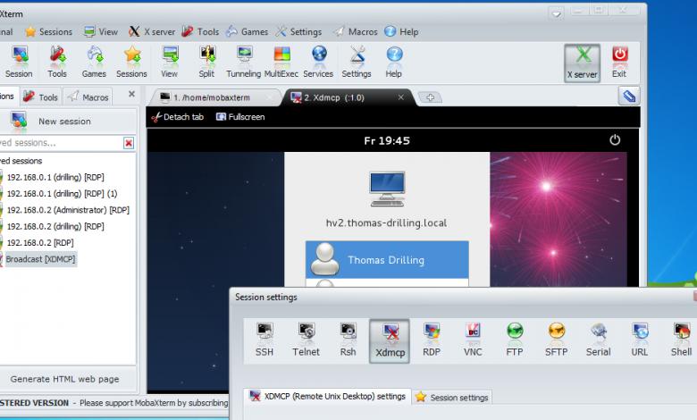 تصویر از معرفی نرم افزار مدیریت جامع و یکپارچه شبکه MobaXterm